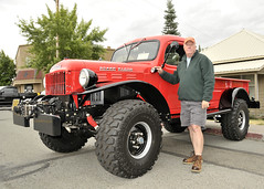 Jim Ayers 1957 Power Wagon Best of show truck