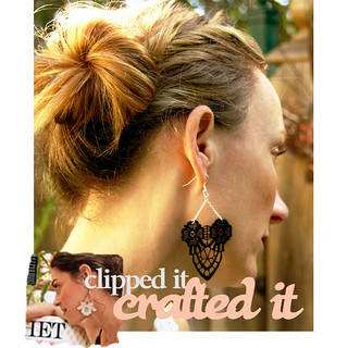 Crochet Lace Earring Project