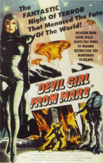 Devil Girl From Mars (Poster)