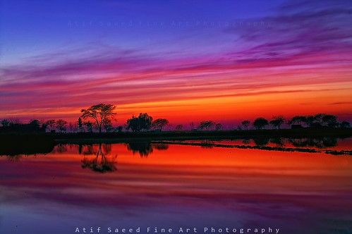 blue pakistan sunset lake reflection nature water landscape colorful hour lahore abigfave atifsaeed gettyimagespakistanq1