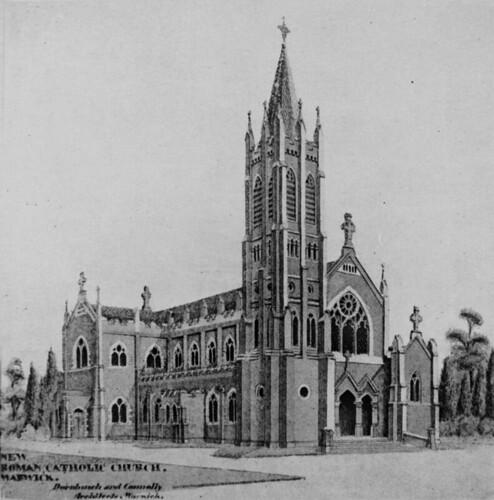 drawings queensland gothicarchitecture statelibraryofqueensland slq queenslandchurches