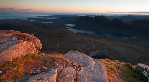 landscape scotland torridon beinn alligin