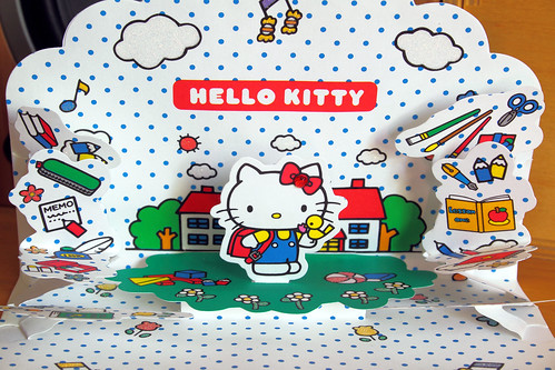 Hello Kitty Pop-Up Card