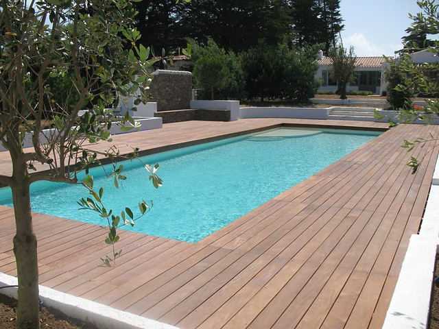 Parquet bois terrasse et plage piscine Flickr Photo Sharing! # Plage Bois Piscine