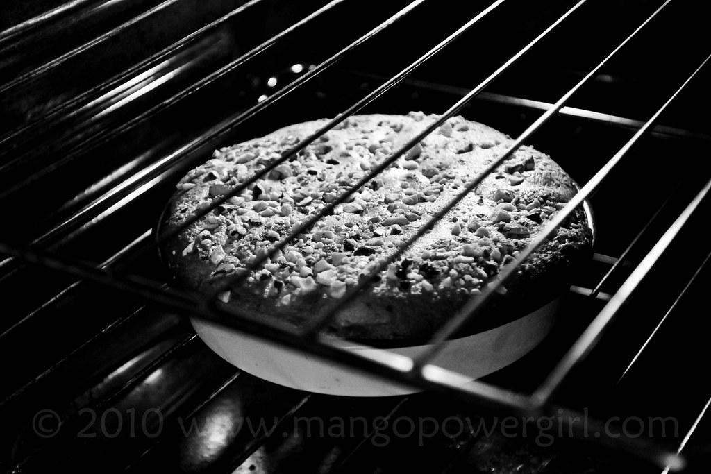 the baking of cardamom fruit cake