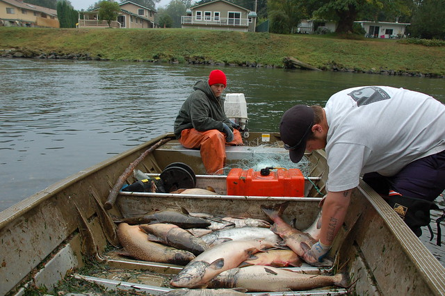 Tribal fishermen on the nisqually flickr photo sharing for Nisqually river fishing