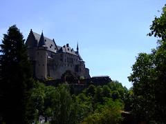 Castle Vianden (luxembourg)