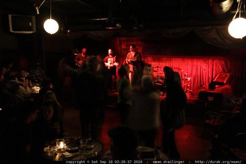 band & audience   water tower bucket boys @ gemini