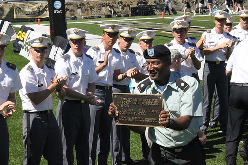 """I want an officer for a secret and dangerous mission. I want a West Point football player"""