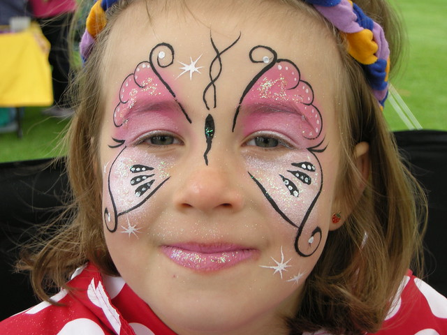Face Painting Signs http://www.flickr.com/photos/pampered-delights/5005098846/