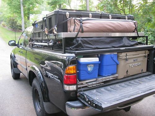 Since the kids are nearly grown now and donu0027t accompany us as much anymore the wife and I built our teardrop to keep us from roughing it like we used to. & Ultimate Camping Thread. | Toyota Tundra Forum
