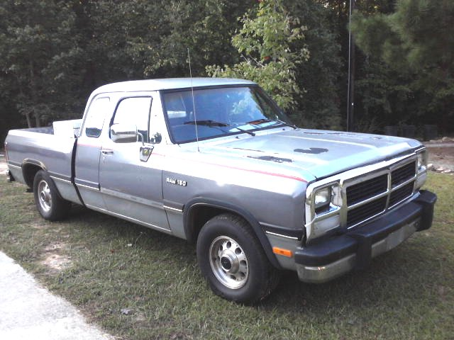 93 dodge ram 150 club cab flickr photo sharing. Black Bedroom Furniture Sets. Home Design Ideas
