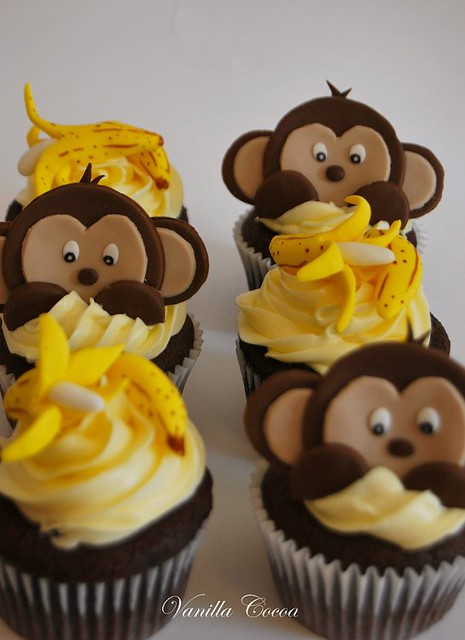 Monkey love cupcakes - photo#4