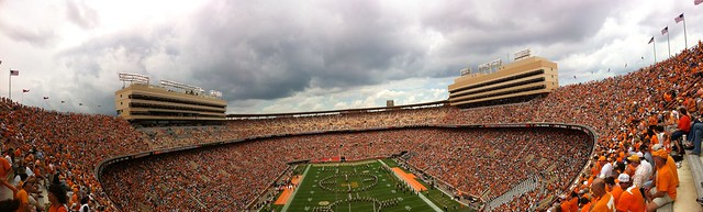 Neyland Stadium During UT vs UAB