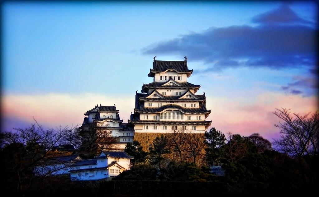 Himeji Castle at Sunrise