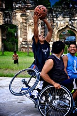 endurance sports(0.0), wheelchair sports(1.0), sports(1.0), wheelchair basketball(1.0), basketball(1.0), athlete(1.0),