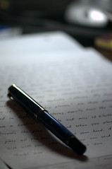 """Writing"" by Jonathan Reyes in Flickr Creative Commons"