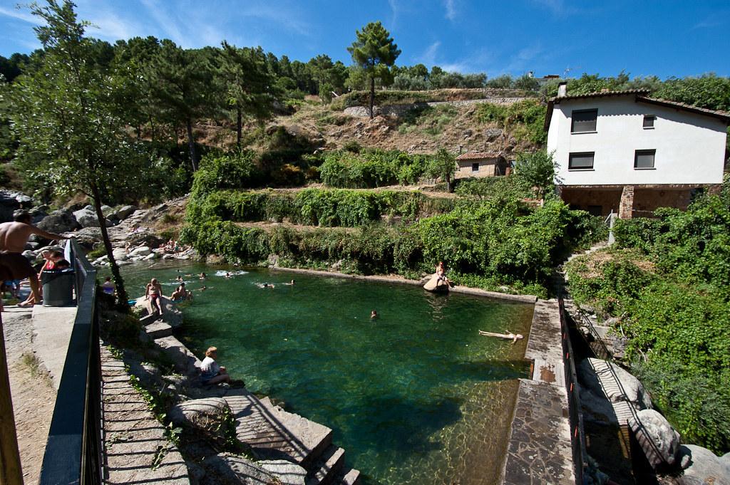 piscina natural el risquillo en guisando