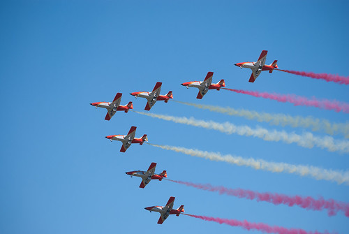 Patrulla Aguila - Spanish Flag