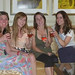 The gals enjoy some bubbly before our crazy Vegas shenanigans by popvulture
