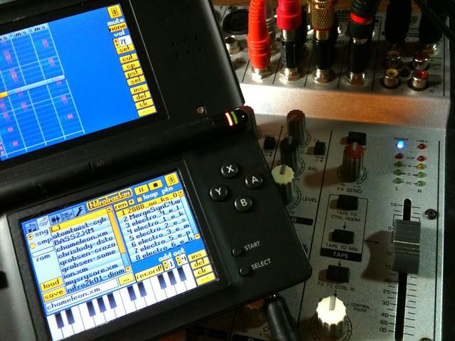 Mixer, NitroTracker and Nintendo DS