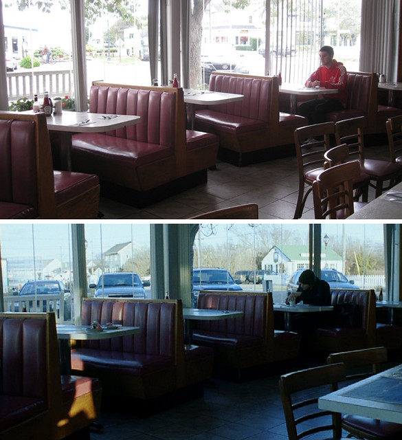 Eternal Sunshine Of The Spotless Mind - Montauk Restaurant