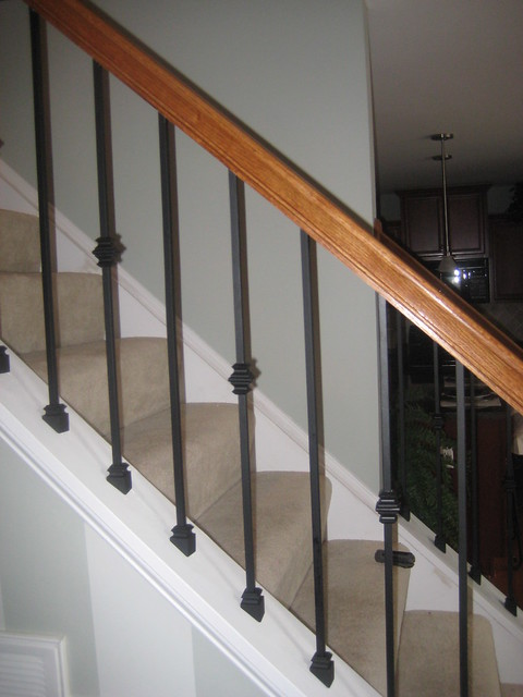 wrought iron baluster installation before and after (14)  Flickr ...