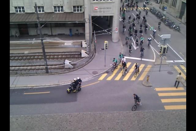 Per Fahrrad zum Auswärtsspiel