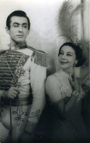 Alicia Markova and Oleg Briansky, 1955