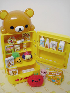Rilakkuma fridge came!! -Explored!-