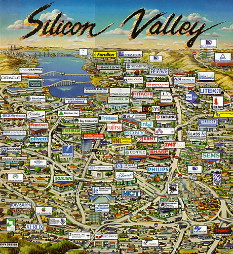 California: Silicon Valley by trudeau