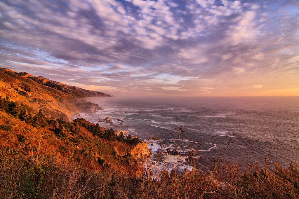 Big Sur near sunset