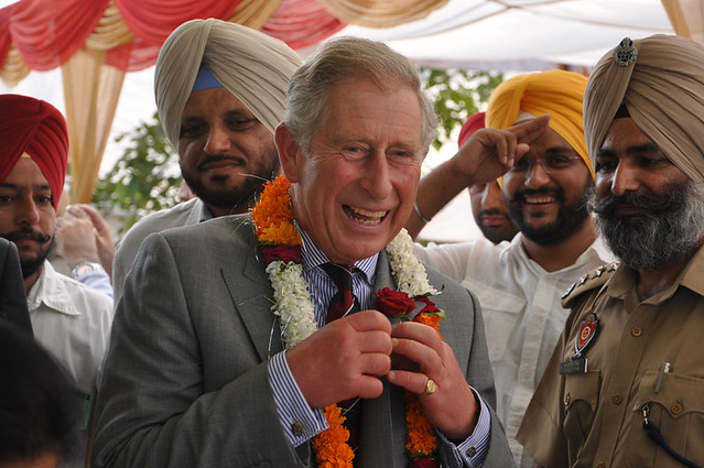 HRH The Prince of Wales & HRH The Duchess of Cornwall in India 2-5 October 2010