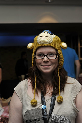 Girl with Mailchimp hat