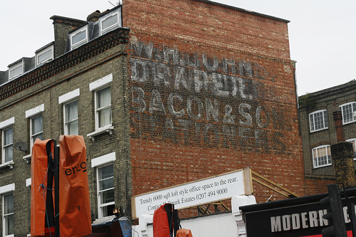 Ghost Sign in Chalk Farm