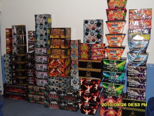 An Epic Fireworks Stash - Craig 2010