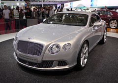 bentley continental flying spur(0.0), convertible(0.0), automobile(1.0), automotive exterior(1.0), bentley continental supersports(1.0), wheel(1.0), vehicle(1.0), performance car(1.0), automotive design(1.0), bentley continental gtc(1.0), auto show(1.0), bentley continental gt(1.0), bumper(1.0), sedan(1.0), personal luxury car(1.0), land vehicle(1.0), luxury vehicle(1.0), bentley(1.0), coupã©(1.0),