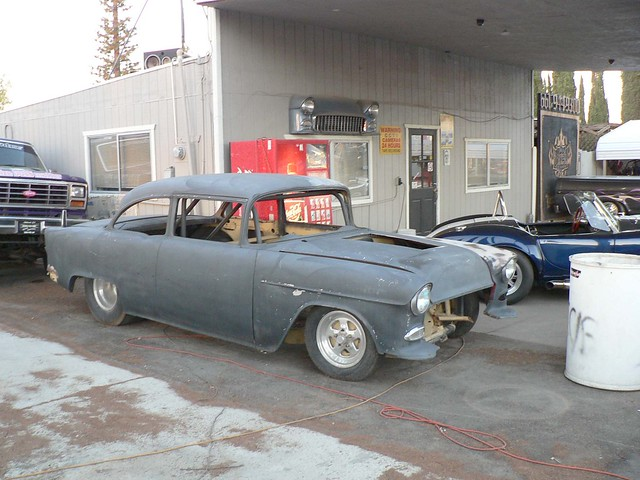 55 Chevy Drag Race Car http://www.flickr.com/photos/wildbearphotos/5066325017/