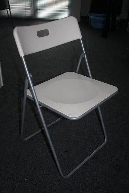 Ikea White Folding Chair 10 Flickr Photo Sharing