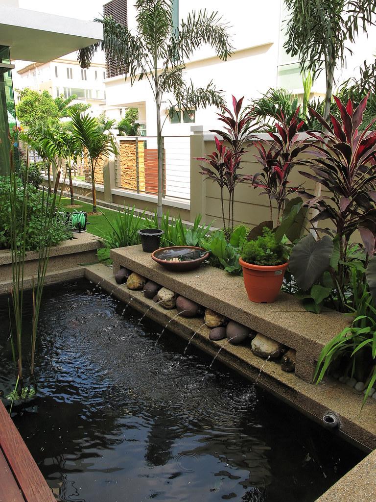 Indoor Fish Ponds : Indoor fish pond and patio  Flickr - Photo Sharing!