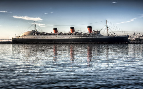 RMS Queen Mary in Long Beach