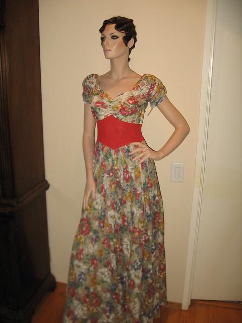 1930s Vintage Garden Party Dress Flickr Photo Sharing