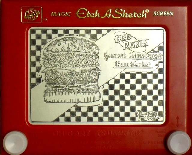 cool etch a sketch