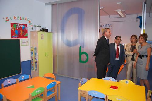 Inauguración Escuela Municipal Educación Infantil de Huétor Vega