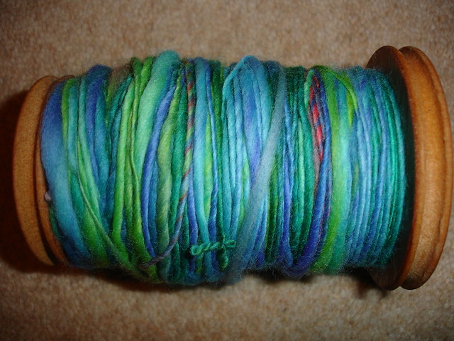 first handspun from roving (2)