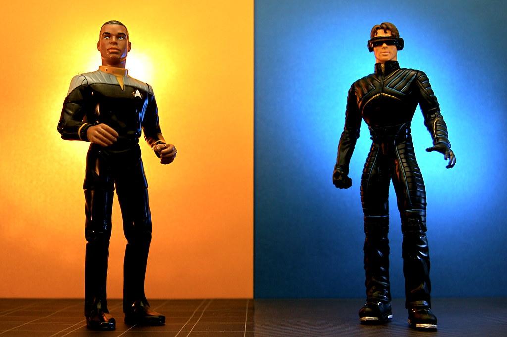 Lieutenant Commander Geordi La Forge vs. Cyclops (288/365)
