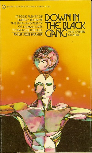 Philip Jose farmer - Down In The Black Gang - cover artist Gene Szafran