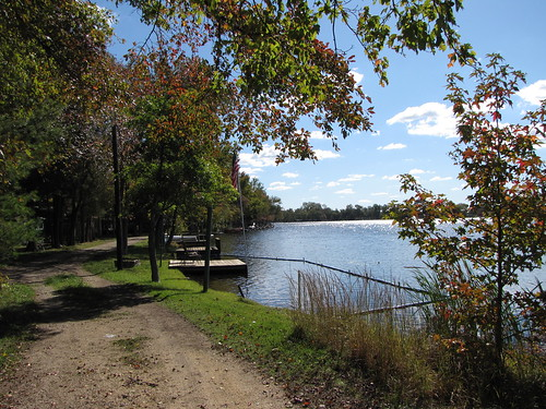 autumn fall gloucestercounty lakegarrison