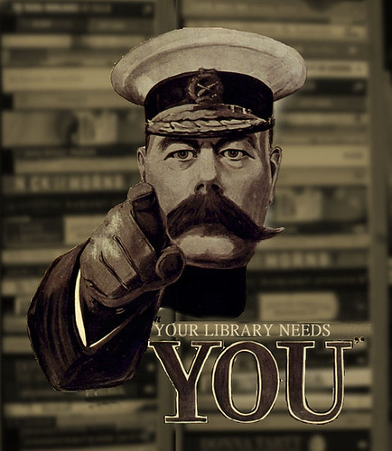 Your library needs you