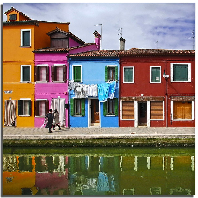 Burano tribute (7) - Living among the colors